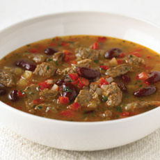 Chili Beef and Bean Soup photo