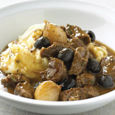 Beef Stew with Olives photo