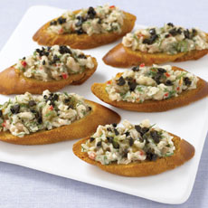 Cannellini and Dill Crostini photo