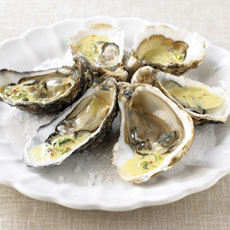 Oysters with Chile and Lime Mayo photo