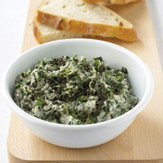 Arugula, Ricotta, and Black Olive Dip photo