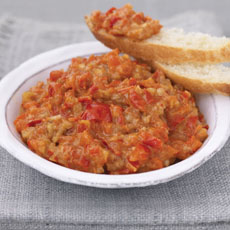 Red Pepper and Walnut Dip photo