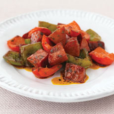 Chorizo with Peppers photo