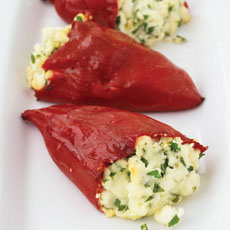 Feta-Stuffed Peppers photo