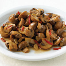 Mushrooms in Garlic Sauce photo