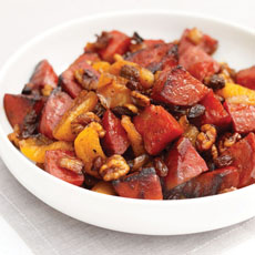Chorizo with Dried Fruit Chutney photo