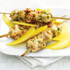 Skewered Lemon and Herb Chicken photo