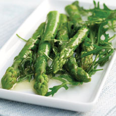 Asparagus with Lemony Dressing photo
