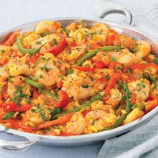 Chicken and Shrimp Paella photo