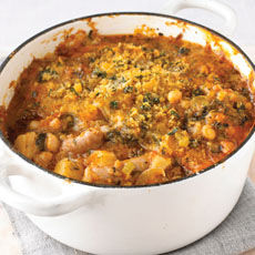 Spiced Sausage Cassoulet photo