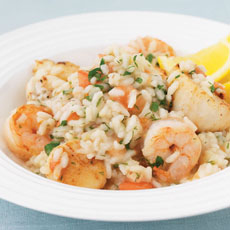 Seafood Risotto photo