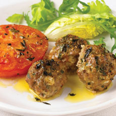 Pork Meatballs with Tomatoes photo