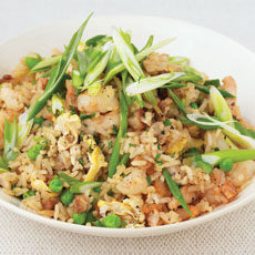 Special Fried Rice with Shrimp and Chicken photo