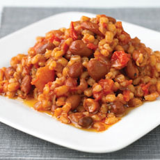 Beef and Barley Creole Style photo