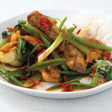 Crispy Beef and Vegetables photo