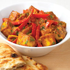 Paneer and Sweet Pepper Curry photo