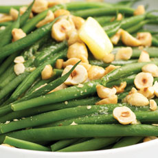 Green Beans with Toasted Hazelnuts photo