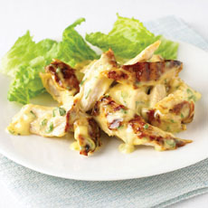 Grilled Chicken with Tarragon Mayonnaise photo