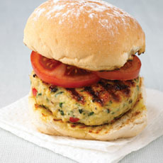 Chicken and Chili Burgers photo