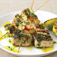 Mixed Fish Kebabs photo