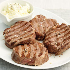 Filet Mignon with Horseradish Cream photo