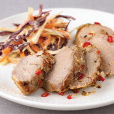 Chile-Slashed Pork Tenderloin photo