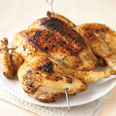 Butterflied Chicken with Lemon, Oregano, and Paprika photo