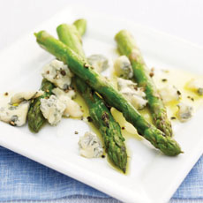 Grilled Asparagus and Gorgonzola photo