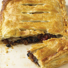 Pear and Mincemeat Pie photo