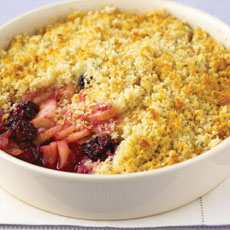Apple and Blackberry Brown Betty photo