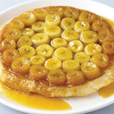 Caramel Banana Tart photo