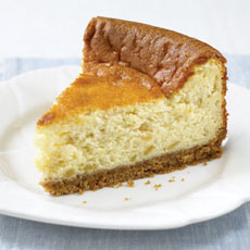 Baked Stem Ginger Cheesecake photo