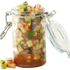 Green Apple-Chipotle Salsa photo