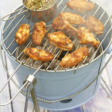Spicy Grilled Chicken Wings photo