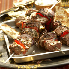 Grilled Lamb Shish Kebab photo