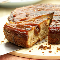 Grilled Banana Upside-Down Cake photo