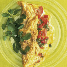 Tomato and Herb Omelet photo