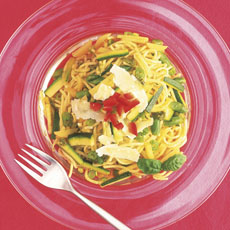 Pasta Pesto with Vegetables photo