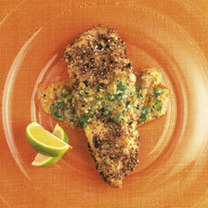 Peppered Fish with Vinaigrette photo