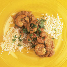 Shrimp and Tomato Curry photo