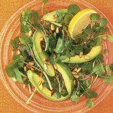 Avocado and Watercress Salad photo