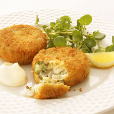 Smoked Haddock and Herb Fishcakes photo