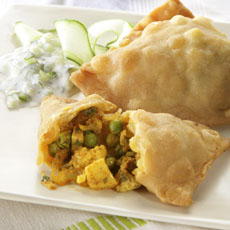 Vegetable Samosas photo