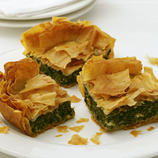 Cheesy Spinach Squares photo
