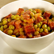 Peas with Ham photo