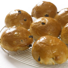 Spiced Fruit Buns photo