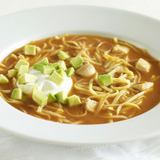 Mexican Chicken Noodle Soup photo
