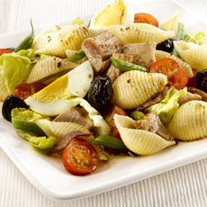 Pasta and Tuna Niçoise Salad photo