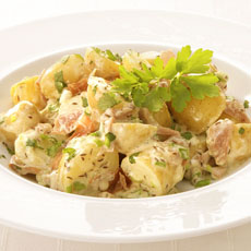 Potato Salad with Prosciutto photo