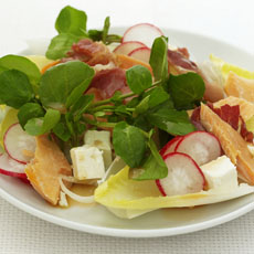 Smoked Trout and Pancetta Salad photo